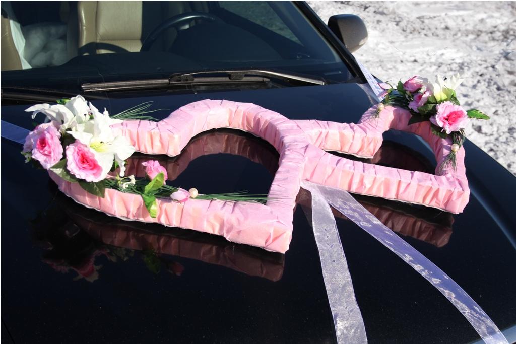Украшения на авто цветы своими руками